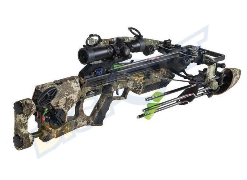 EXCALIBUR BALESTRA ASSASSIN 360 PACKAGE TRUETIMBER STRATA TACT ZONE LSP 285LBS