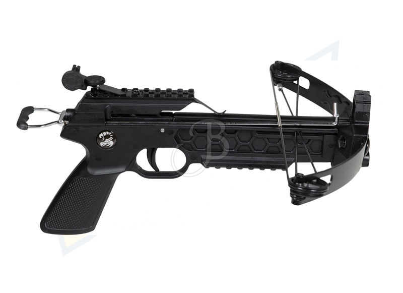 SKORPION PISTOLA BALESTRA COMPOUND CON DARDI